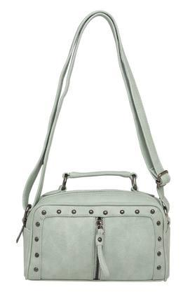 HAUTE CURRY Womens Zipper Closure Sling Bag - 204360240_9450