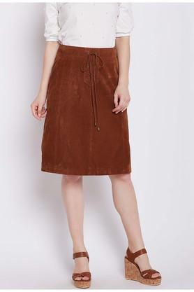 COVER STORYWomens Solid Skirt