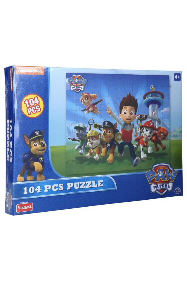 Unisex Paw Patrol Puzzle - 104 Pieces