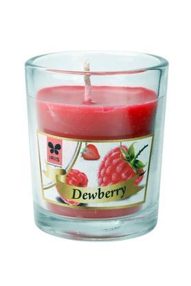 IRISRound Glass Dew Berry Candle