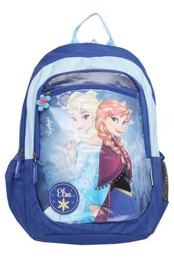 Unisex 1 Compartment Zip Closure Backpack