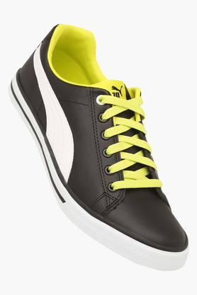 Mens Leather Lace Up Sports Shoes