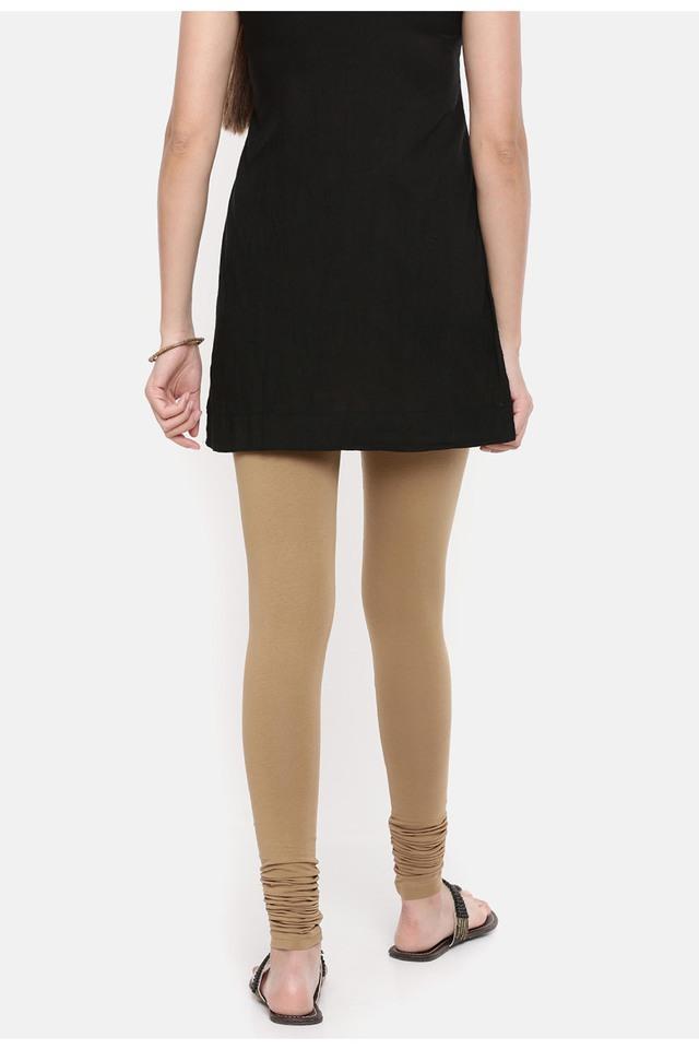 Womens Solid Leggings