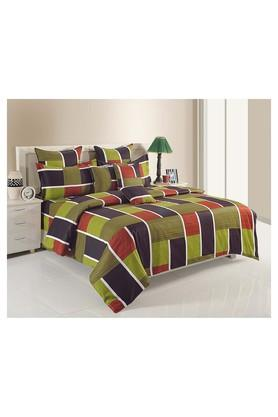 SWAYAM Multicolour Geometric Single AC Comfortor