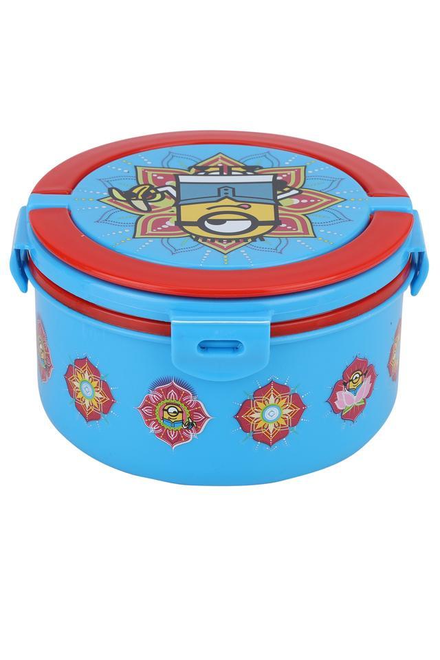 Minions Masala Round Big Lunch Box