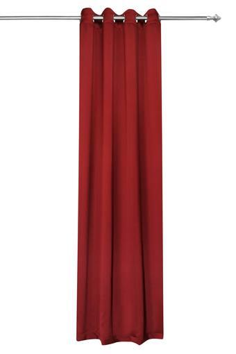 ROSARA HOME -  Maroon Curtains - Main