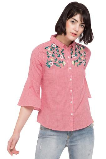 Womens Embroidered Casual Shirt