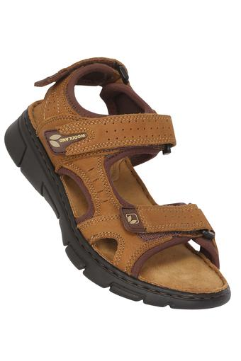 WOODLAND -  Camel Sandals & Floaters - Main