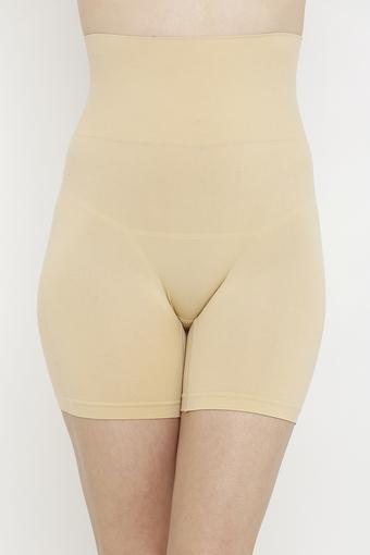 Womens High Waist Solid Shapewear Shorts