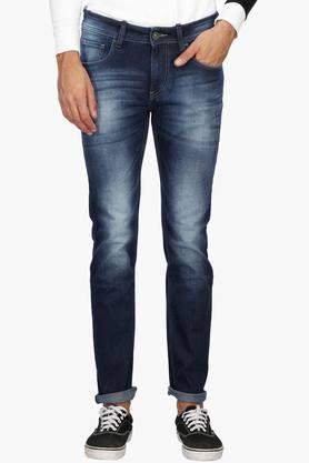 FLYING MACHINEMens Slim Fit Heavy Wash Jeans (Micheal Fit) - 202896858