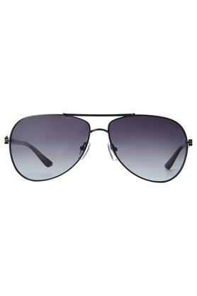 Mens Full Rim Polarized Lens Aviator Sunglasses - AZ60022C022