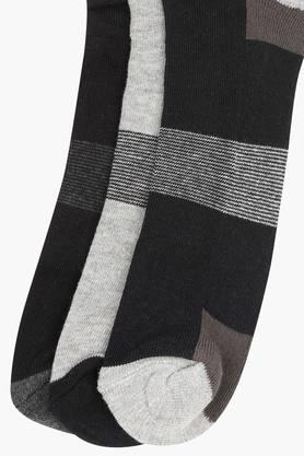 Mens Colour Block Socks Pack of 3