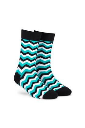 Unisex Printed Socks - Pack of 4