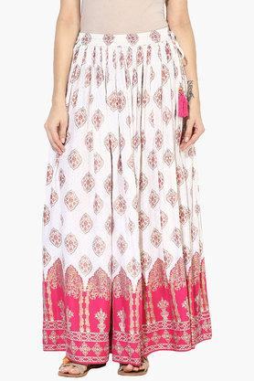 JUNIPERWomens Printed Skirt