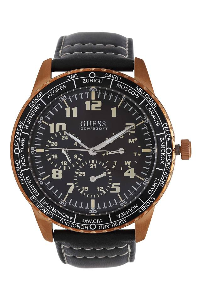 Mens Round Dial Chronograph Watch - W1170G2
