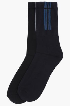 STOP Mens Solid Socks Pack Of 2