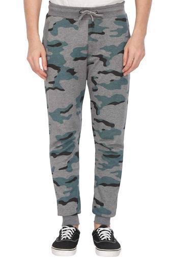Mens 3 Pocket Camouflage Track Pants