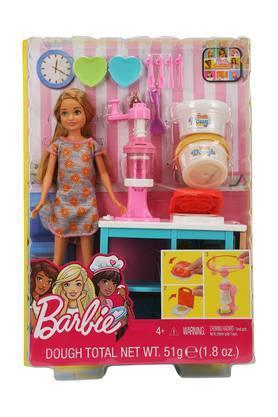 Unisex Barbie Doll Dough Total Set