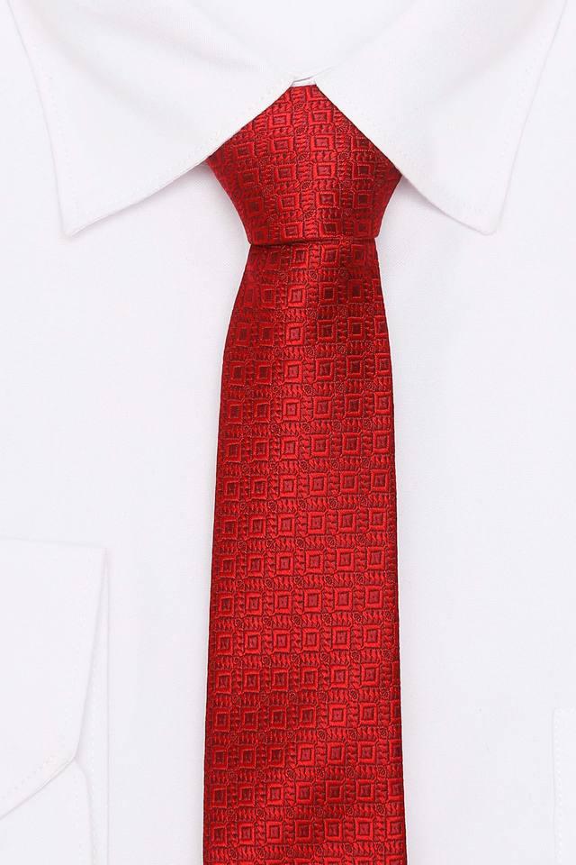 Mens Self Pattern Formal Tie