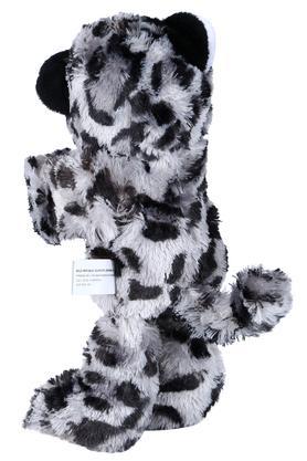 Unisex Printed Snow Leopard Soft Toy