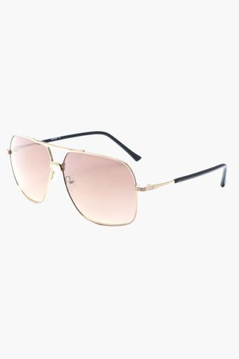 Mens Aviator Polycarbonate Sunglasses - 006 C1 S