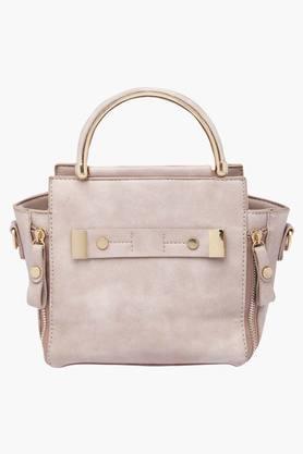 HAUTE CURRYWomens Zipper Closure Tote Handbag - 202722244