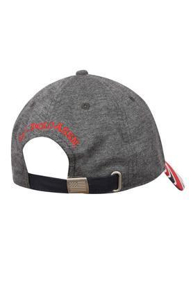 Mens Slub Embroidered Cap