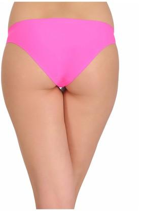 Womens Low Waist Solid Bikini Briefs