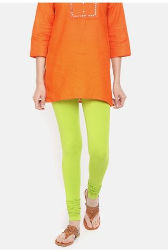 DE MOZA -  Lime Green Jeans & Leggings - Main