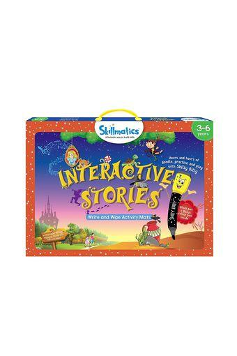 Unisex Interactive Stories Write and Wipe Activity Game