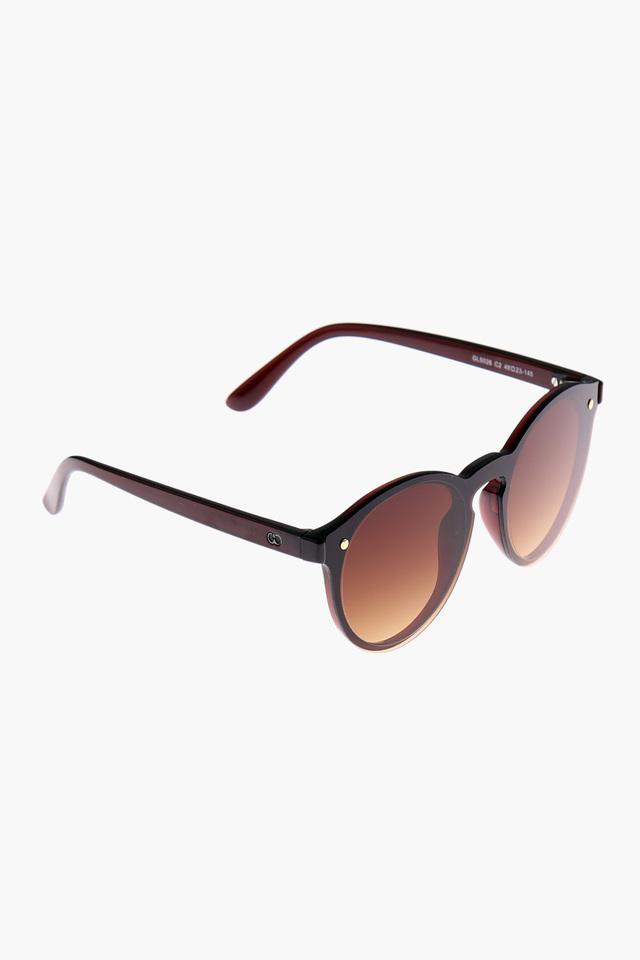 Womens Round Full Rim Sunglasses - GL5026C01