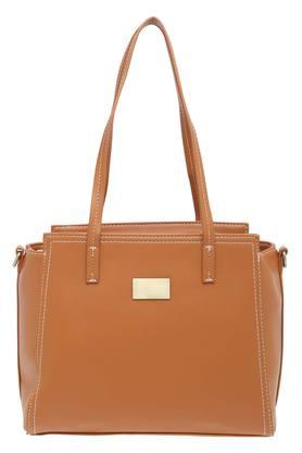 Womens Abigail Zip Closure Satchel Handbag