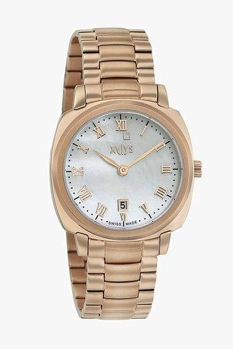 ffe54e26 Womens Analogue Stainless Steel Watch - 45002WM01