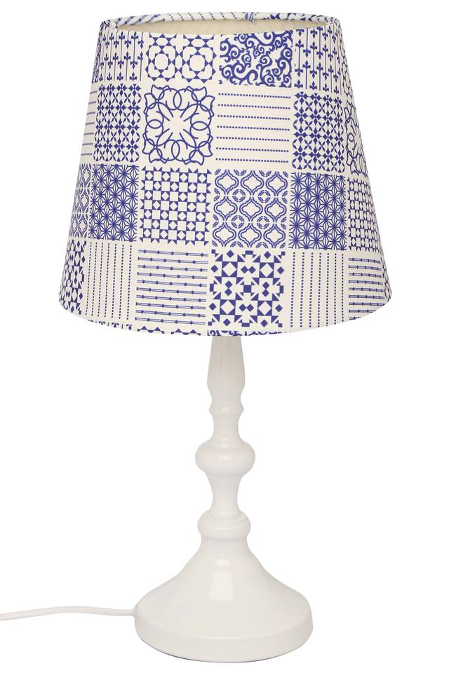 Conical Printed Lamp