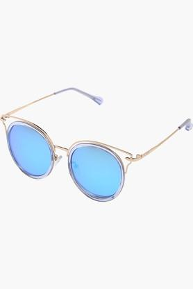 LIFEWomens Mirror Reflection Round Sunglasses LIO64C41