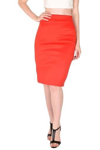 5f5e73a39 Buy SASSAFRAS Womens Slim Fit Solid Pencil Skirt | Shoppers Stop