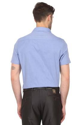 STOP - Blue Formal Shirts - 1