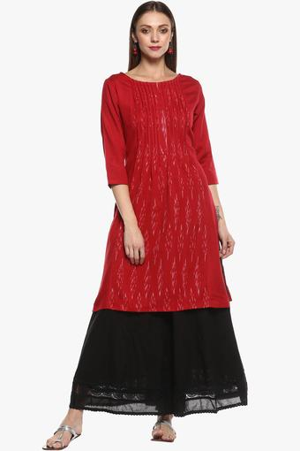 IMARA -  Red Kurtas - Main