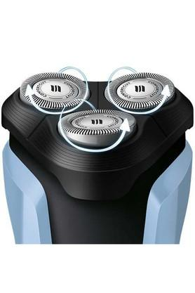 Mens Aquatouch Wet and Dry Electric Cordless Shaver - S107004