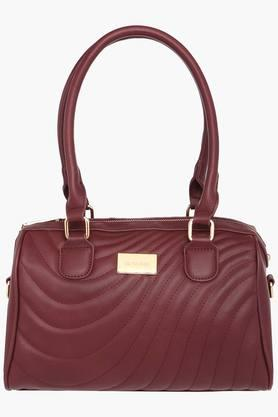 SATYA PAUL Womens Zipper Closure Satchel Handbag - 203029019