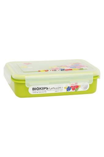Rectangular Colour Block Container with Lid - 1.100 ml