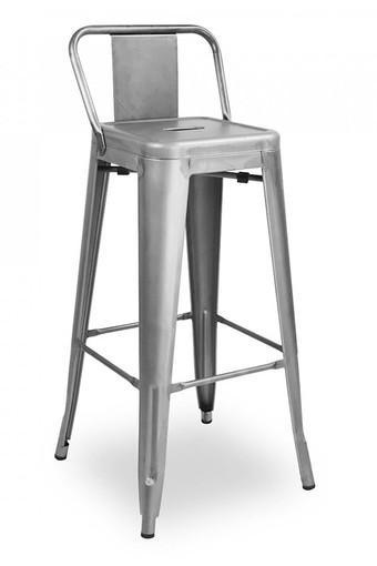 Grey Gilly Bar Chair