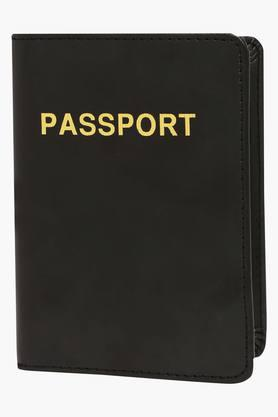 TRAVEL BLUE Unisex 1 Fold Passport Holder