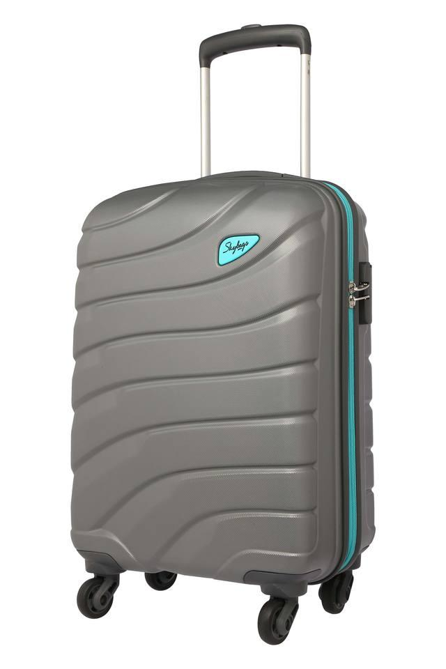 Unisex Zip Closure Hard Trolley