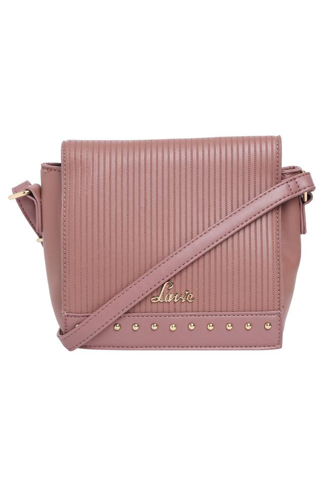 Womens Zip Closure Sling Bag