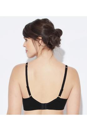 Full Support Cotton Bra - High Coverage Lightly Padded Wirefree