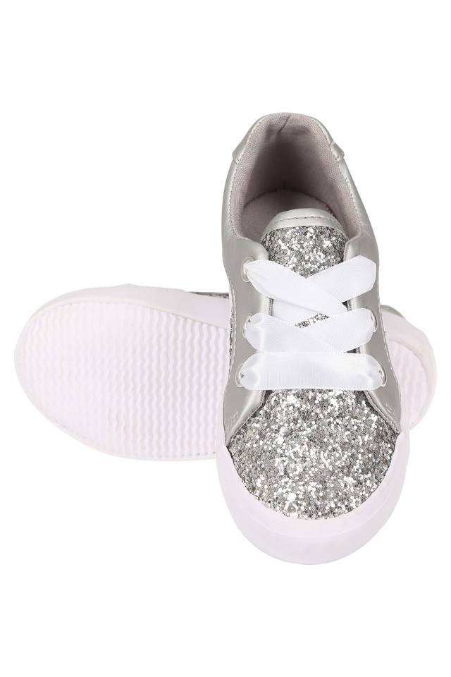 Girls Lace Up Sneakers