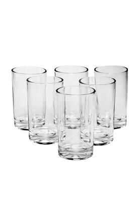 IVY Round Transparent Juice Glasses Set Of 6