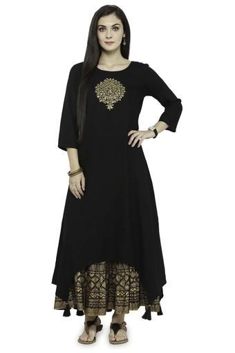 VARANGA -  BlackSalwar & Churidar Suits - Main