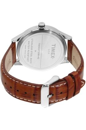 Mens Analogue Leather Watch - TW000T308